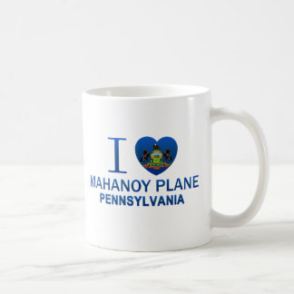 I Love Mahanoy Plane, PA Classic White Coffee Mug