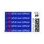 I Love Mahj Jongg - Stamp