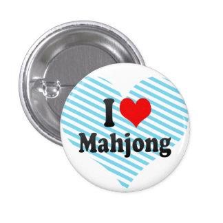 I love Mahjong Buttons