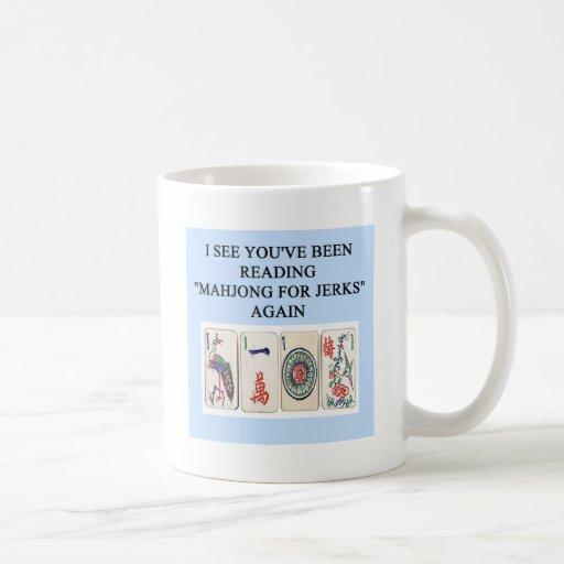 i love MAHJONG Classic White Coffee Mug