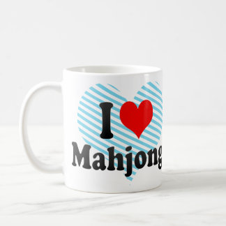 I love Mahjong Coffee Mug