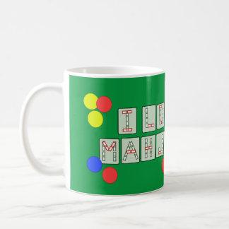 I Love Mahjong - Lettered Tiles Coffee Mug