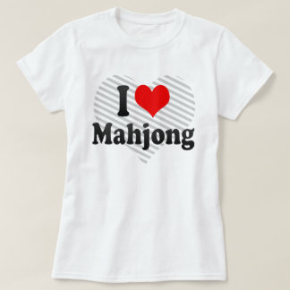 I love Mahjong T-Shirt