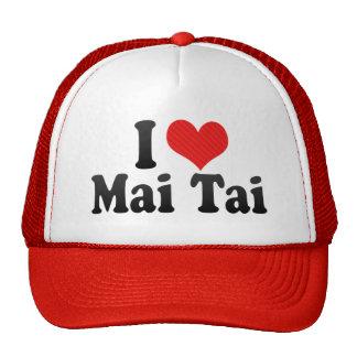 I Love Mai Tai Trucker Hat