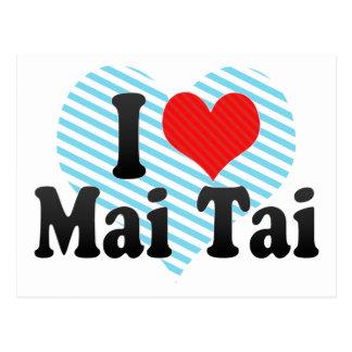 I Love Mai Tai Postcards