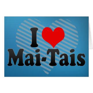 I Love Mai-Tais Card
