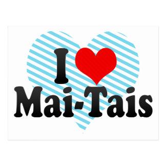 I Love Mai-Tais Post Card