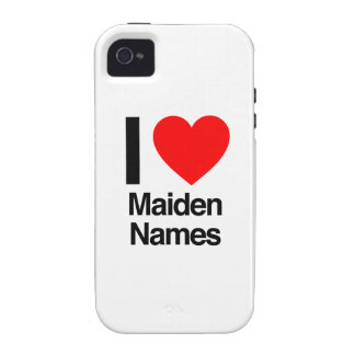 i love maiden names iPhone 4/4S covers