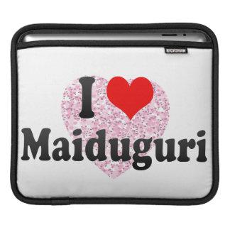 I Love Maiduguri, Nigeria iPad Sleeves