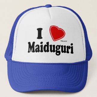 I Love Maiduguri Trucker Hat