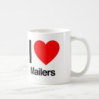 i love mailers coffee mug