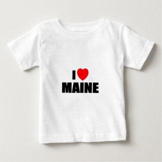 I Love Maine Baby T-Shirt