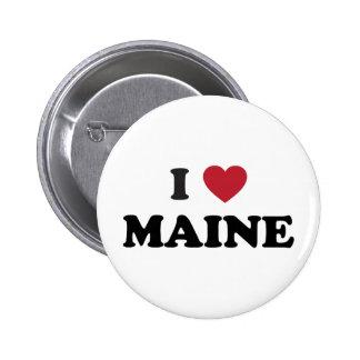 I Love Maine Pin