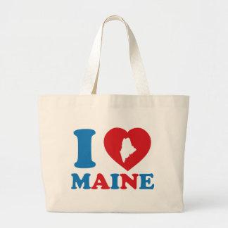 I Love Maine Jumbo Tote Bag