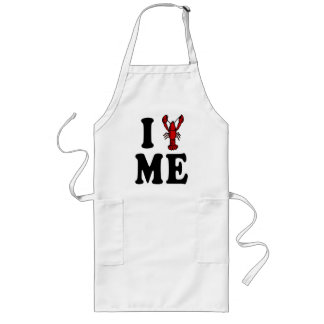I Love Maine Lobster Long Apron