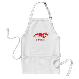 I love Maine Lobster Adult Apron