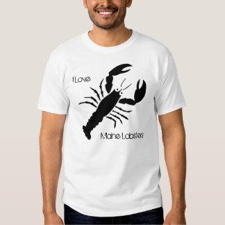 I Love Maine Lobsters Tee Shirt