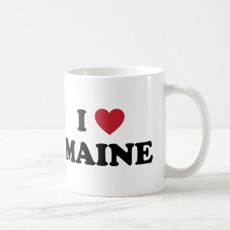I Love Maine Coffee Mugs