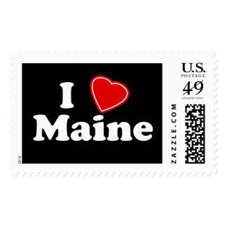 I Love Maine Stamp