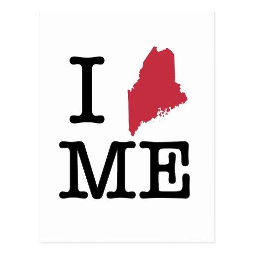 I Love Maine Postcard