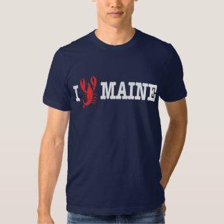 I Love Maine T Shirt