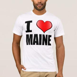 I Love Maine T-Shirt - Mens