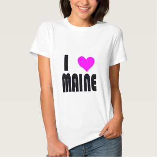 I Love Maine USA  t-shirt
