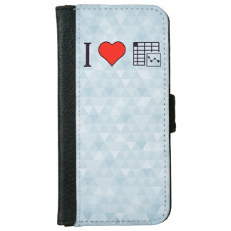 I Love Maintaing Records iPhone 6/6s Wallet Case