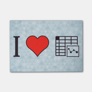 I Love Maintaing Records Post-it® Notes