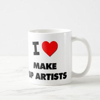 I Love Make Up Artists Mug