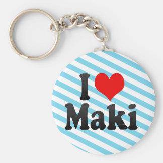 I Love Maki, Japan. Aisuru Maki, Japan Keychains