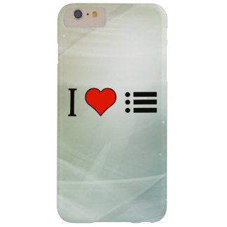 I Love Making A Bulleted Lists Barely There iPhone 6 Plus Case
