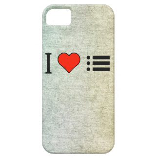 I Love Making A Bulleted Lists iPhone 5 Case