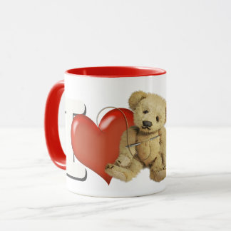 I Love Making Bears Personalized Mug
