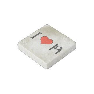 I Love Making Money Stone Magnet