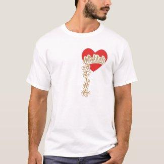 i love Makkah Madina Tshirt
