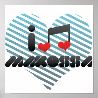 I Love Makossa Posters