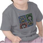 I Love Malamutes Tee Shirts