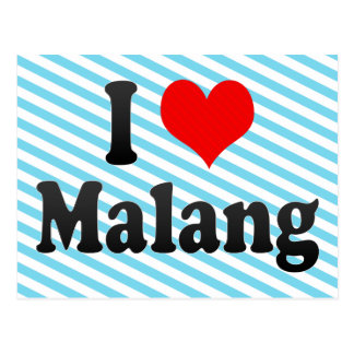 I Love Malang, Indonesia Postcard