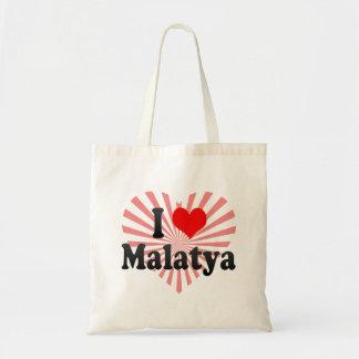 I Love Malatya, Turkey Budget Tote Bag