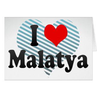 I Love Malatya, Turkey Stationery Note Card