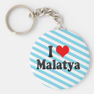 I Love Malatya, Turkey Basic Round Button Keychain