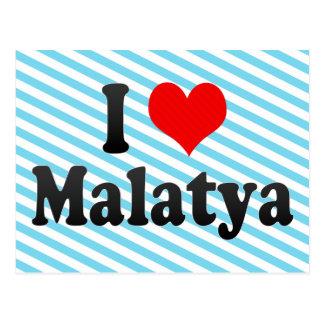 I Love Malatya, Turkey Postcard