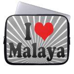 I love Malaya Computer Sleeve