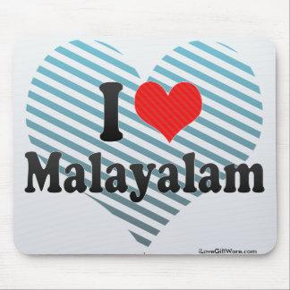 I Love Malayalam Mouse Pads
