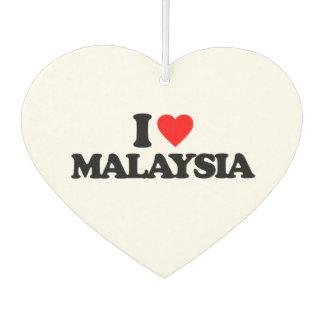 I LOVE MALAYSIA AIR FRESHENER