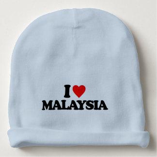 I LOVE MALAYSIA BABY BEANIE