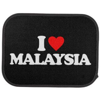 I LOVE MALAYSIA CAR MAT