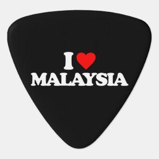 I LOVE MALAYSIA GUITAR PICK
