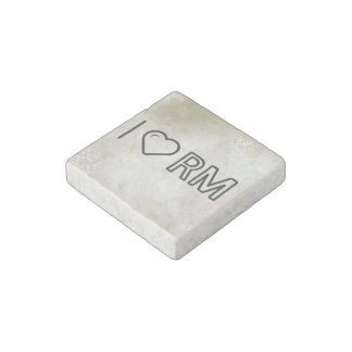 I Love Malaysian Currency Stone Magnet